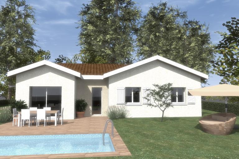 Maisons du constructeur TRADITION LOGIS 69 • 90 m² • SAINT BONNET DE MURE