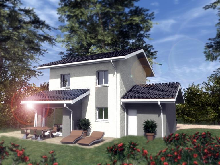 Maisons du constructeur TRADITION LOGIS 69 • 90 m² • MEXIMIEUX