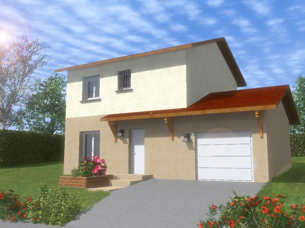Maisons du constructeur TRADITION LOGIS 69 • 90 m² • BELIGNEUX