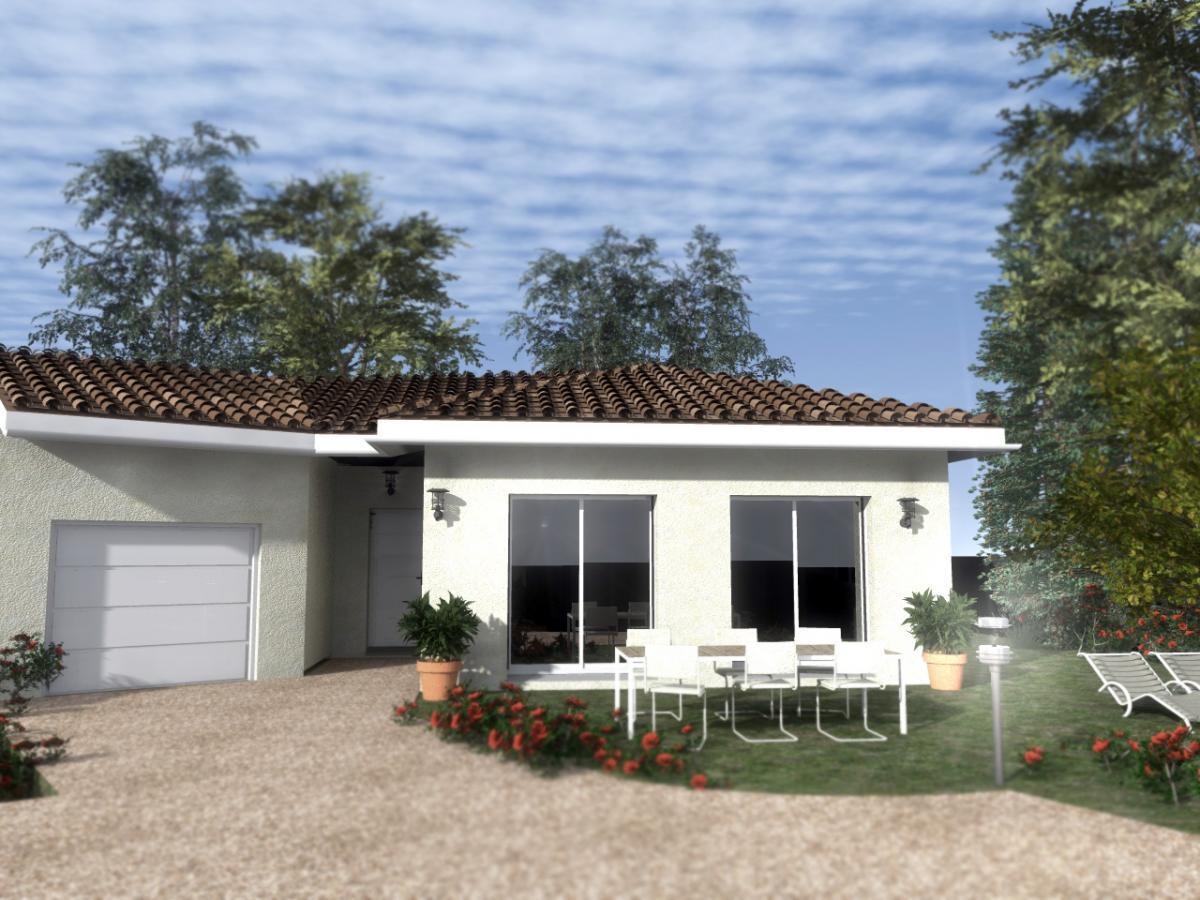 Maisons du constructeur TRADITION LOGIS 69 • 90 m² • CHARNOZ SUR AIN