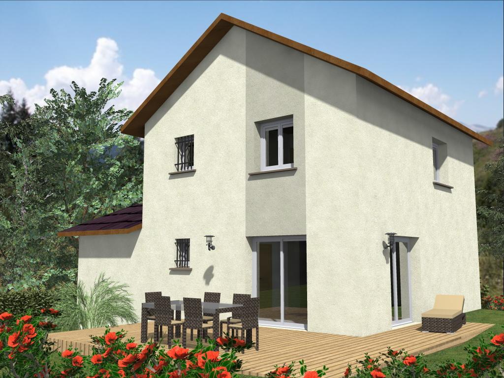 Maisons du constructeur TRADITION LOGIS 69 • 90 m² • VILLIEU LOYES MOLLON