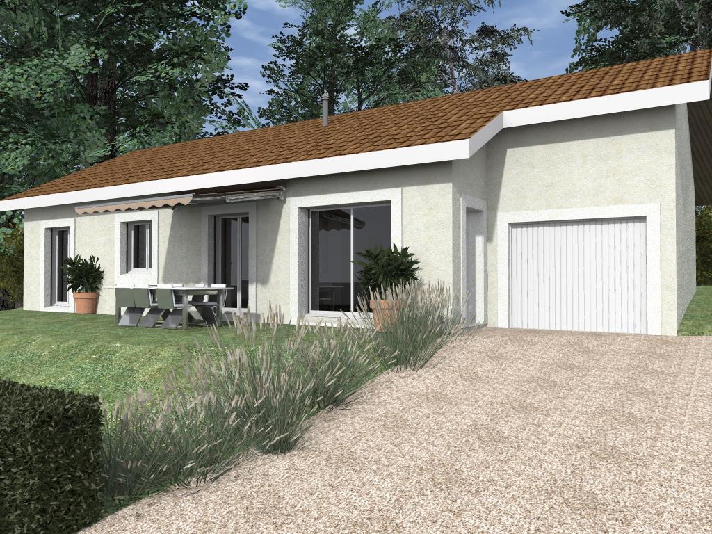 Maisons du constructeur TRADITION LOGIS 69 • 90 m² • SAINT JEAN DE NIOST