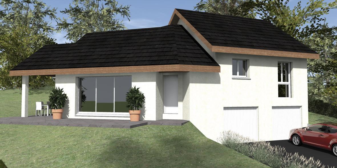 Maisons du constructeur TRADITION LOGIS 69 • 91 m² • PARCIEUX