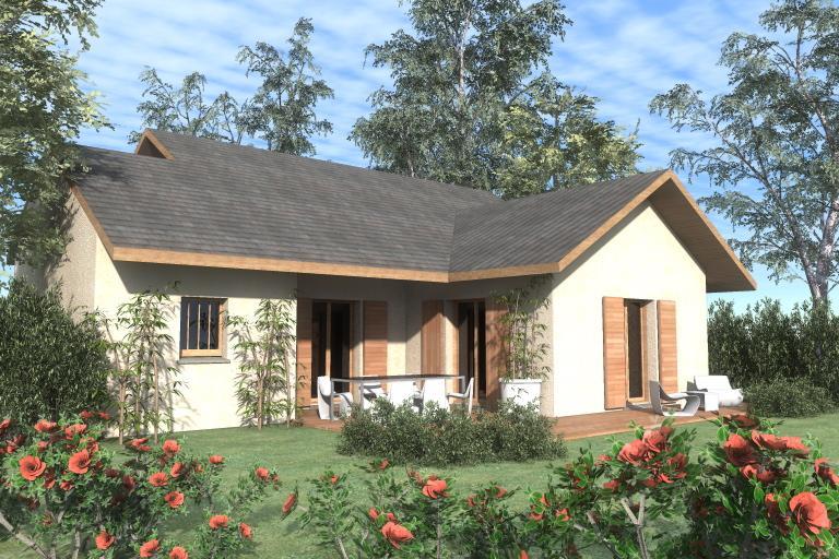 Maisons du constructeur TRADITION LOGIS 69 • 91 m² • MASSIEUX