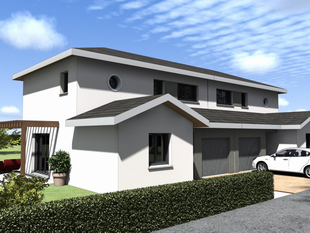 Maisons du constructeur TRADITION LOGIS 69 • 91 m² • SAINT ANDRE DE CORCY