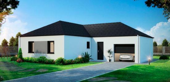 Maisons du constructeur TRADITION LOGIS 83 • 90 m² • GAREOULT