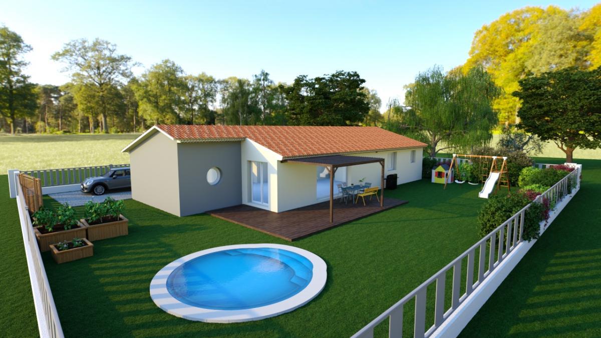 Maisons du constructeur TRADITION LOGIS 83 • 90 m² • FORCALQUEIRET