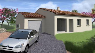 Maisons du constructeur TRADITION LOGIS 83 • 96 m² • FORCALQUEIRET