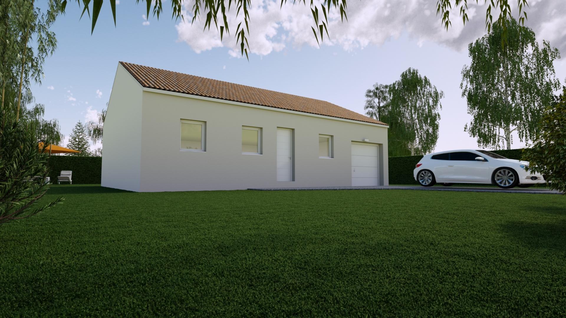 Maisons + Terrains du constructeur Mon Courtier Maison • 75 m² • MOUZEIL