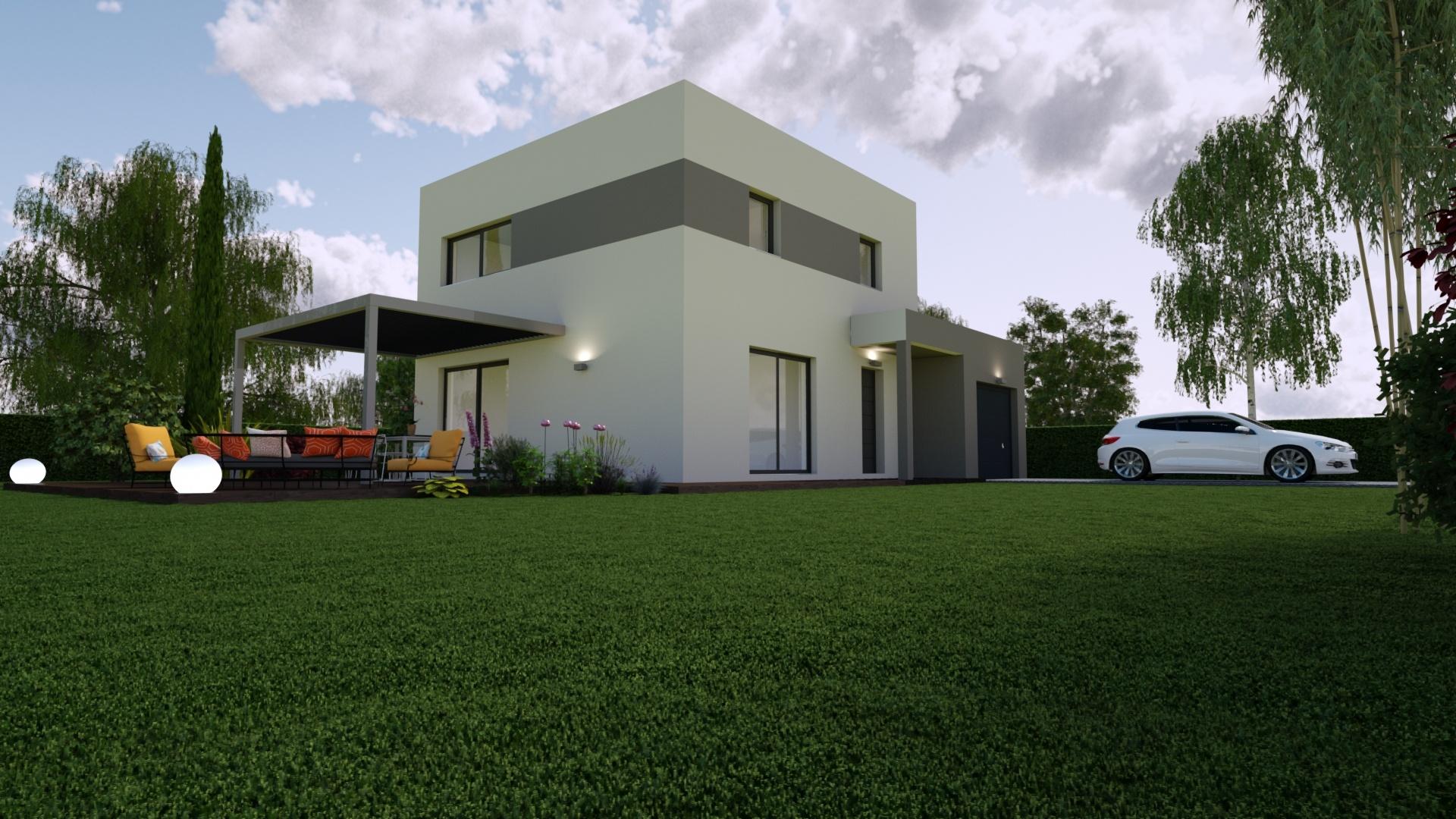 Maisons + Terrains du constructeur Mon Courtier Maison • 104 m² • SUCE SUR ERDRE