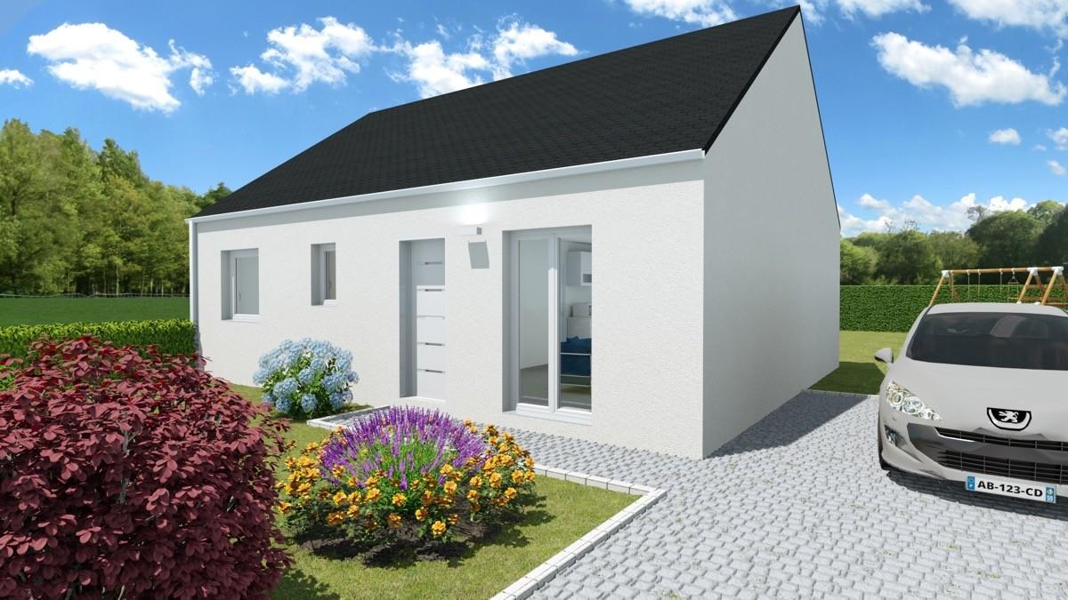 Maisons + Terrains du constructeur Mon Courtier Maison • 70 m² • MOISDON LA RIVIERE