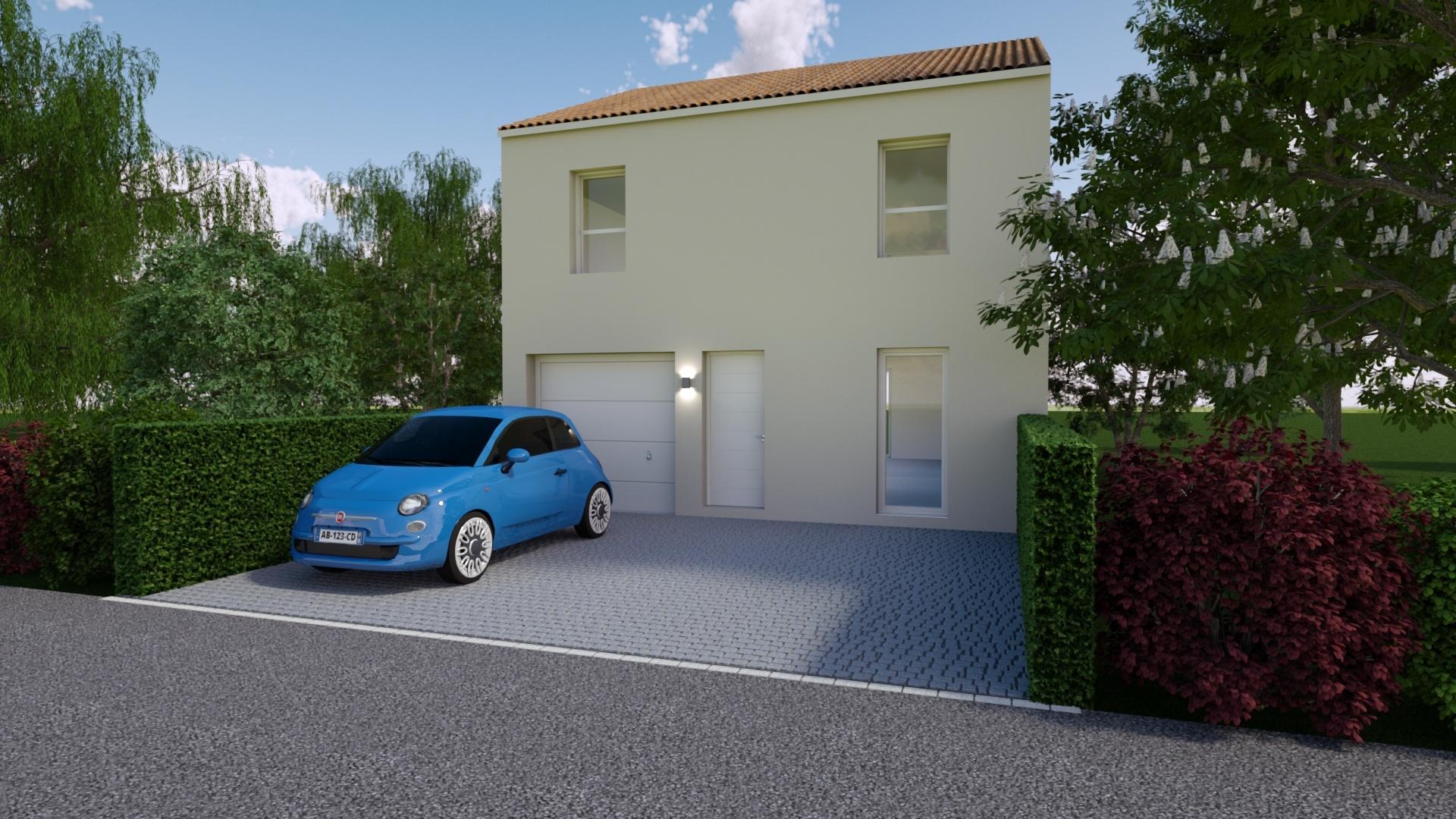Maisons + Terrains du constructeur Mon Courtier Maison • 83 m² • ANETZ