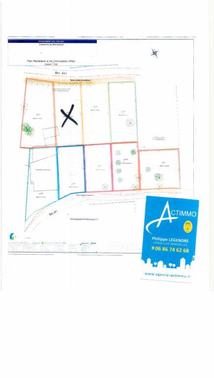 Terrains du constructeur ACTIMMO • 521 m² • BENNECOURT