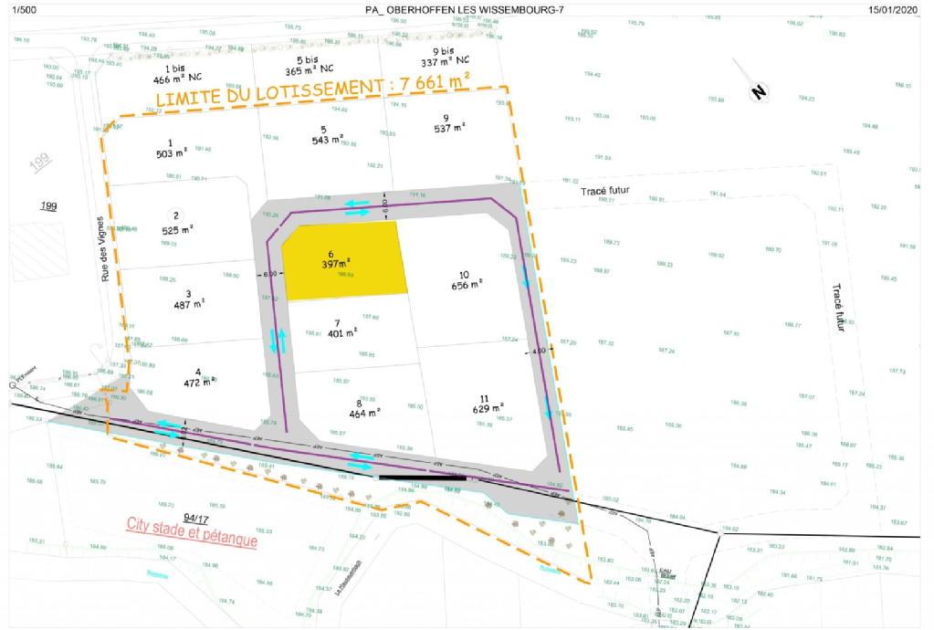 Terrains du constructeur NEO CONCEPT IMMOBILIER • 0 m² • OBERHOFFEN LES WISSEMBOURG