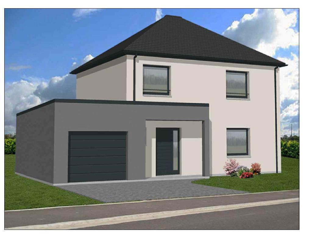Maisons + Terrains du constructeur Maison Familiale Saint Quentin • 100 m² • SAVY