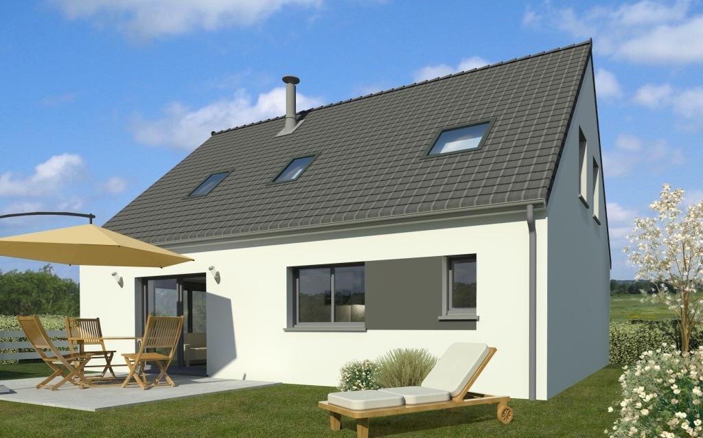 Maisons + Terrains du constructeur Maison Familiale Saint Quentin • 109 m² • NEUVILLE SAINT AMAND