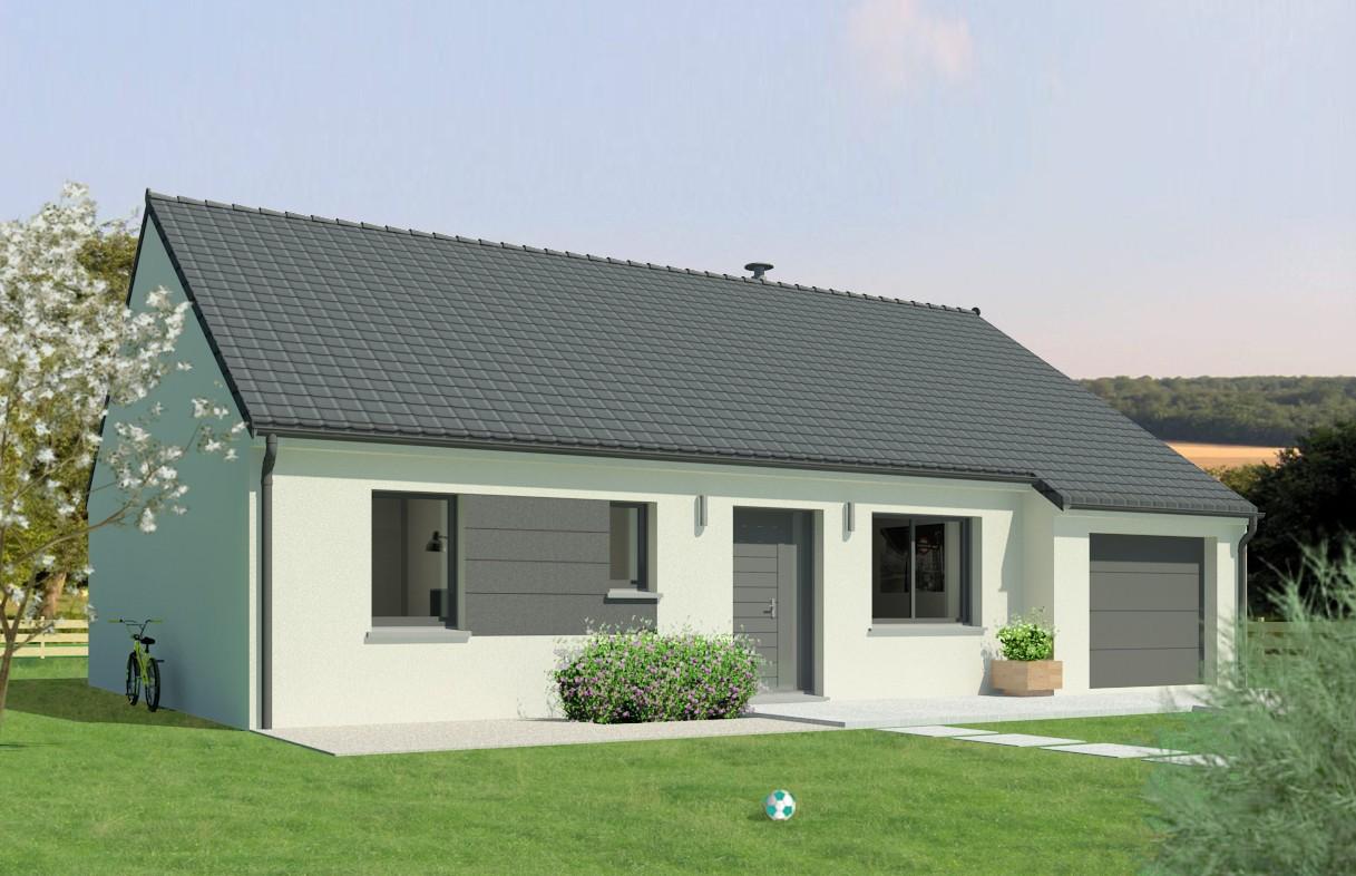 Maisons + Terrains du constructeur Maison Familiale Saint Quentin • 100 m² • CHAUNY