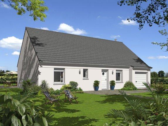 Maisons + Terrains du constructeur Maison Familiale Saint Quentin • 100 m² • SAINT NICOLAS AUX BOIS