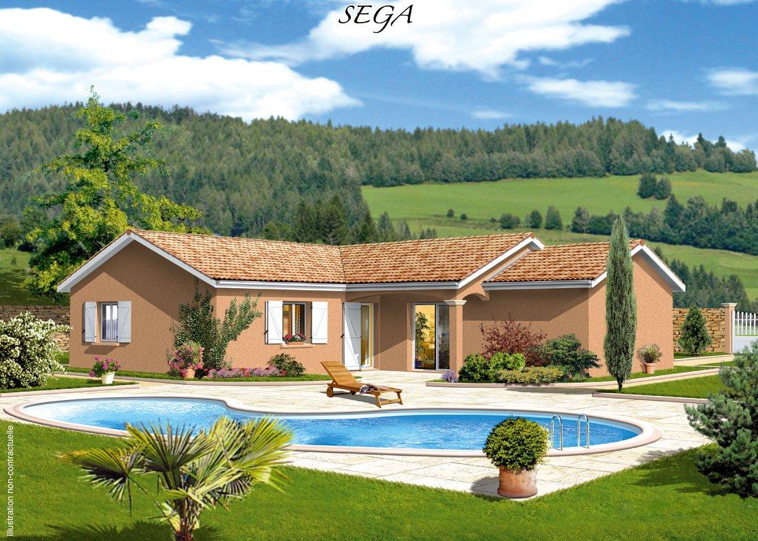 Maisons + Terrains du constructeur MAISONS PUNCH SIEGE SOCIAL • 93 m² • GARNERANS