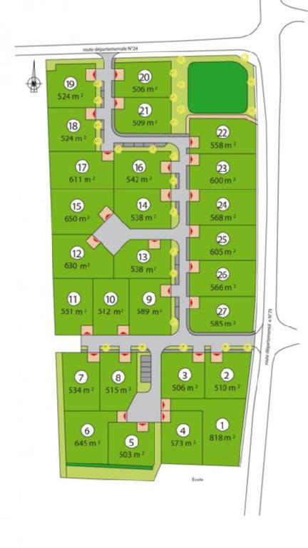 Terrains du constructeur ACANTHE • 566 m² • COMBOURTILLE
