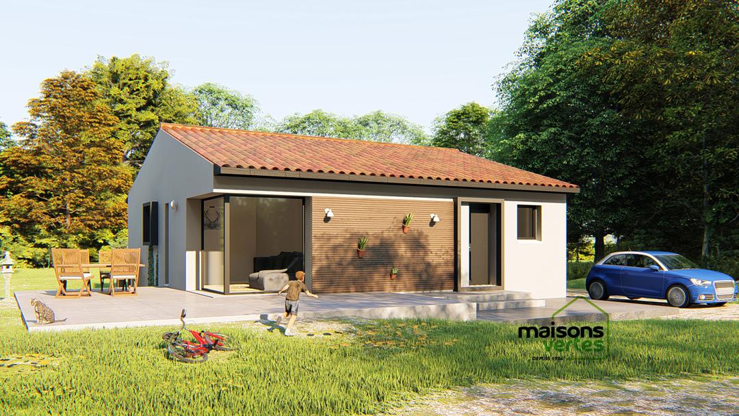 Maisons + Terrains du constructeur MAISONS VERTES • 82 m² • MAILHAC
