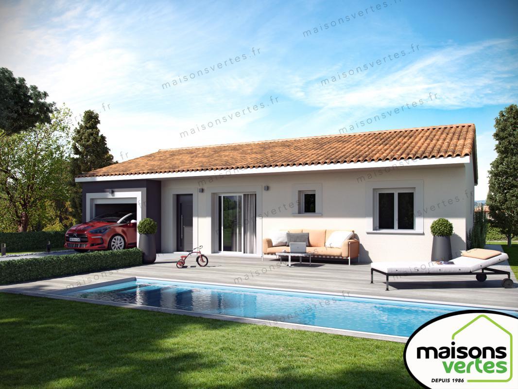 Maisons + Terrains du constructeur MAISONS VERTES • 87 m² • FITOU