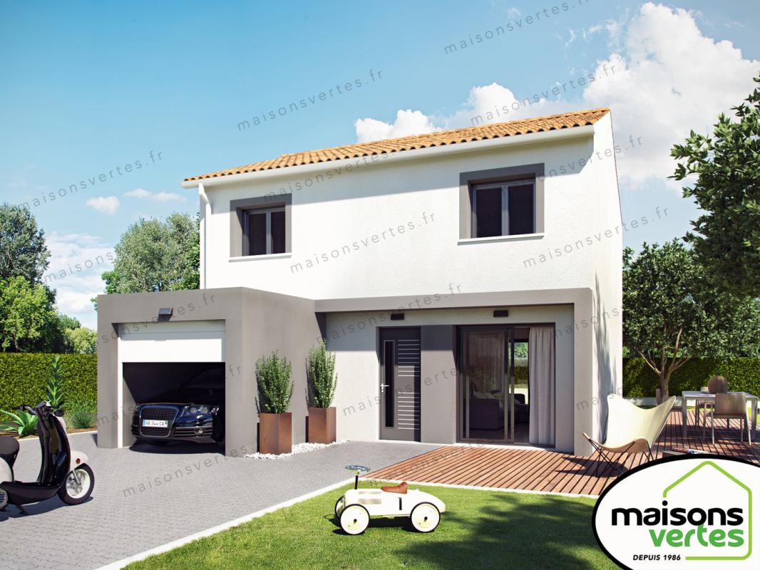 Maisons + Terrains du constructeur MAISONS VERTES • 82 m² • SALLELES D'AUDE