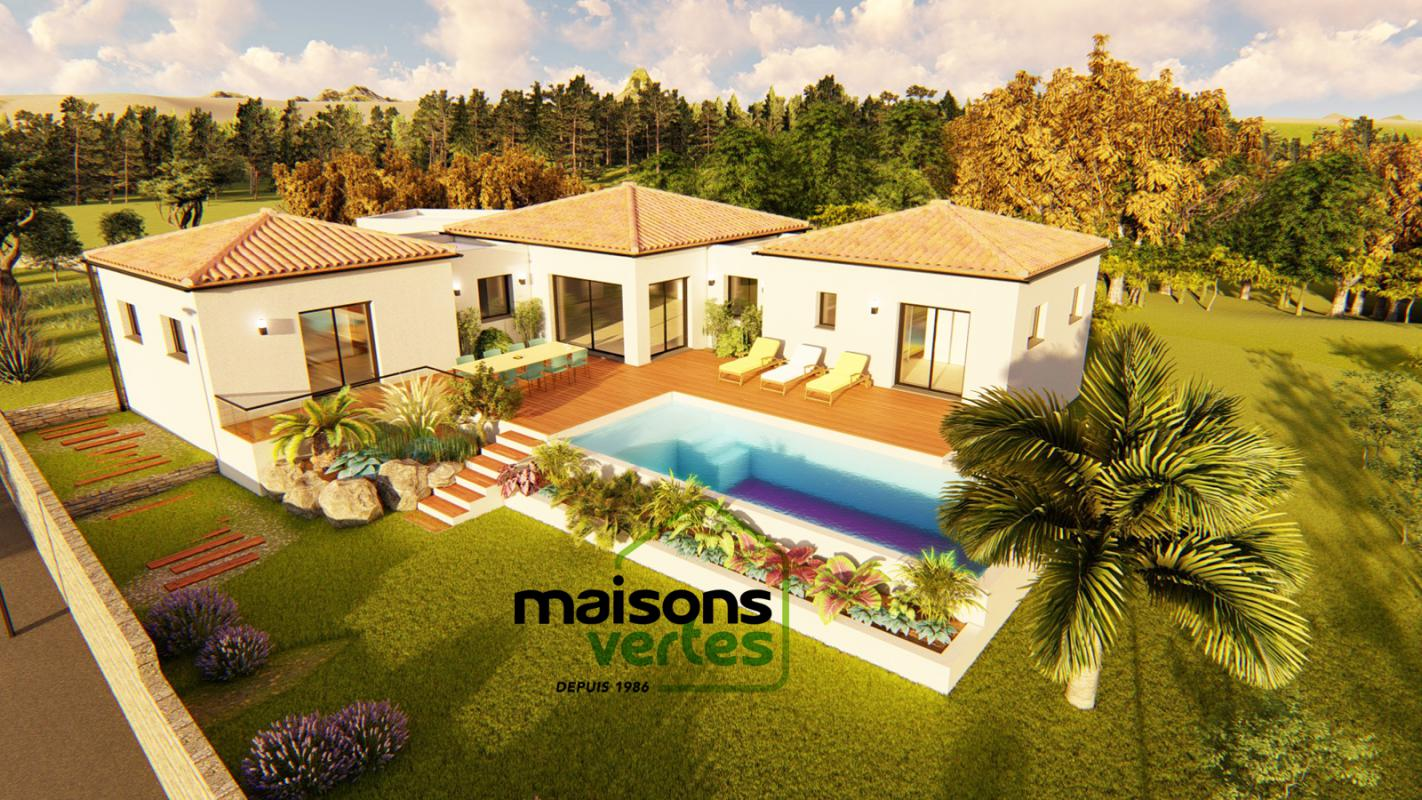 Maisons + Terrains du constructeur MAISONS VERTES • 140 m² • LIMOUX