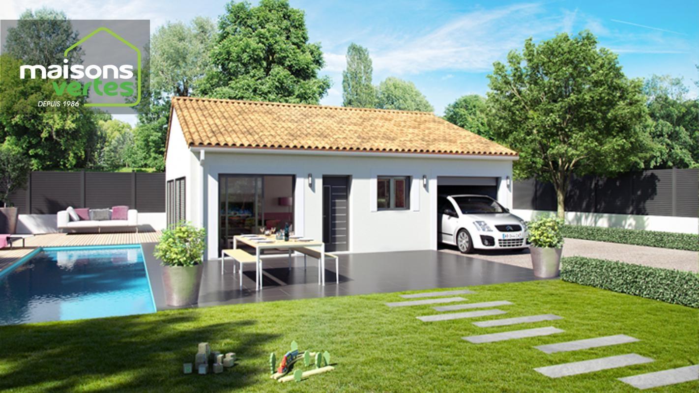 Maisons + Terrains du constructeur MAISONS VERTES DE L AUDE - AGENCE DE NARBONNE • 75 m² • ROUBIA