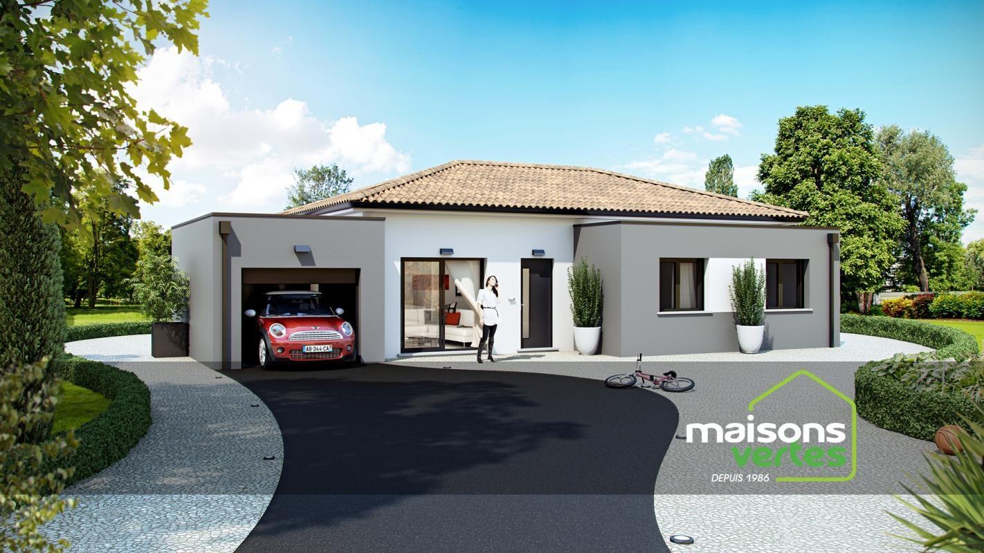 Maisons + Terrains du constructeur MAISONS VERTES DE L AUDE - AGENCE DE NARBONNE • 110 m² • NARBONNE