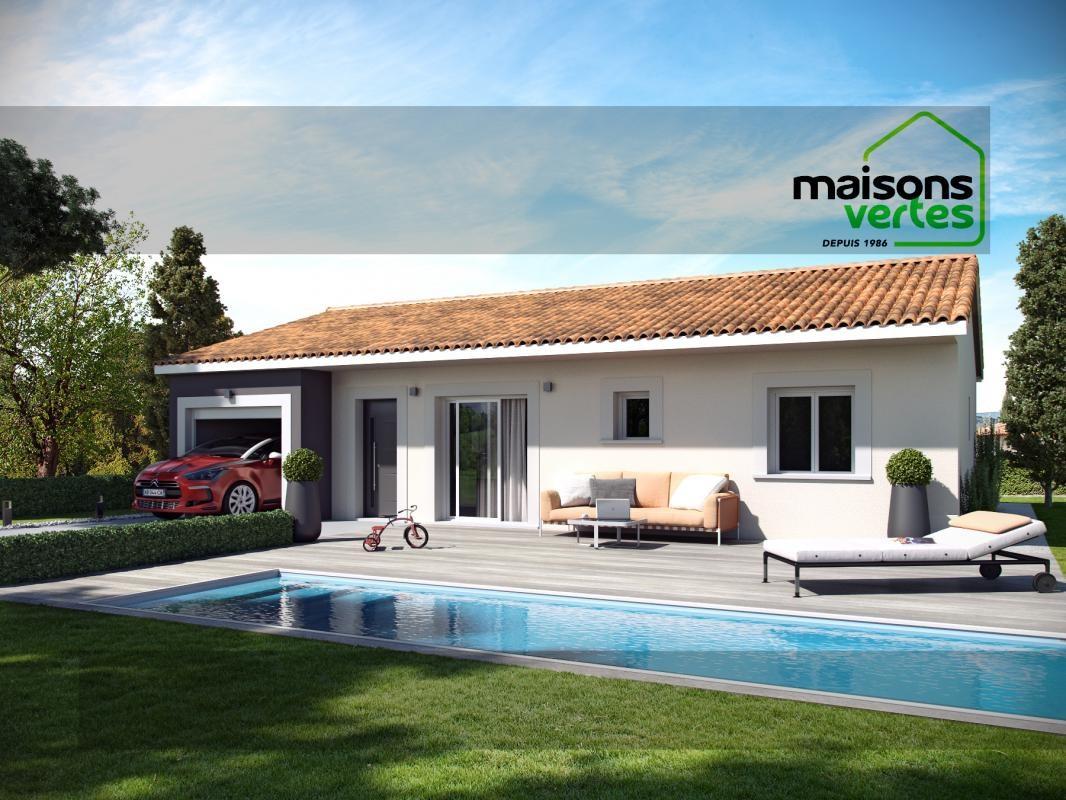 Maisons + Terrains du constructeur MAISONS VERTES DE L AUDE - AGENCE DE NARBONNE • 86 m² • CAVES
