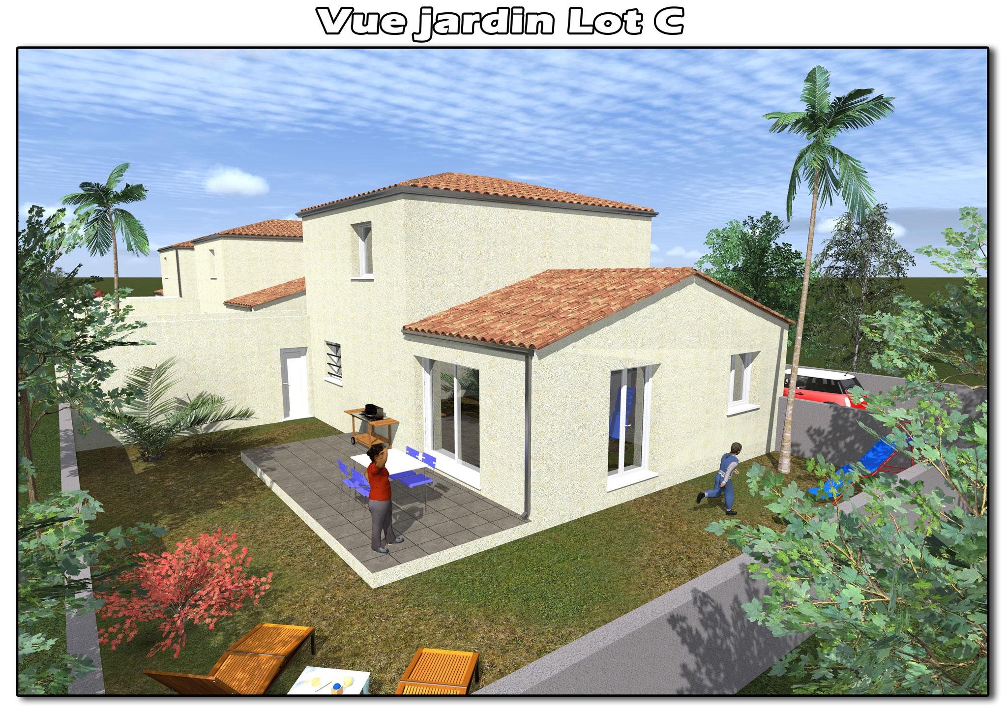 Maisons du constructeur CAP CONSTRUCTION • 100 m² • LIGNAN SUR ORB
