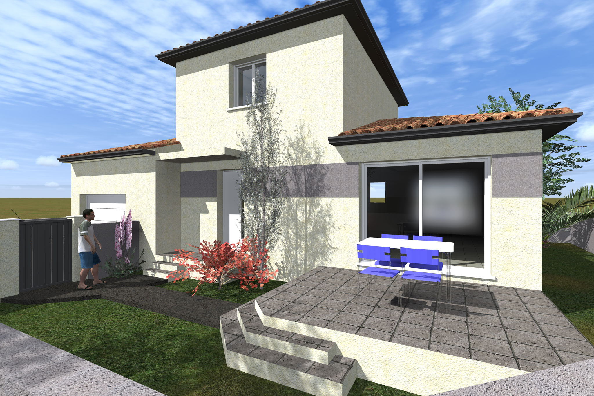 Maisons du constructeur CAP CONSTRUCTION • 92 m² • BEZIERS