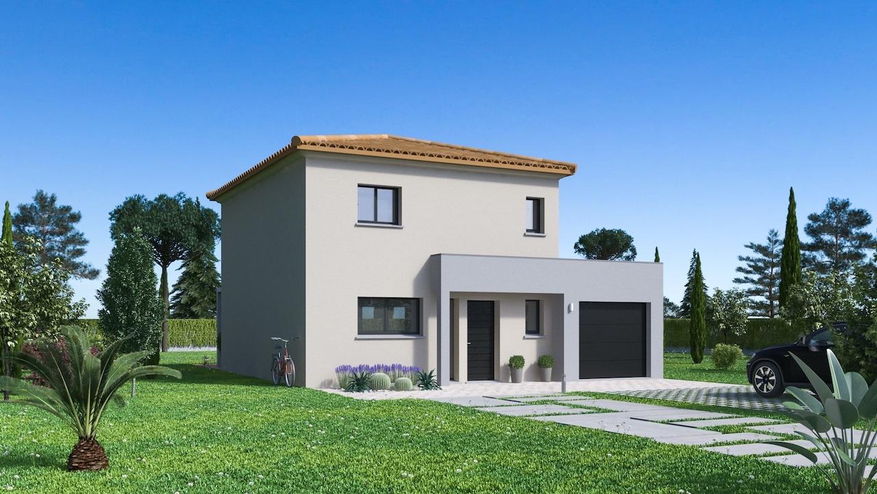 Maisons + Terrains du constructeur MAISON FAMILIALE • 108 m² • ROGNAC