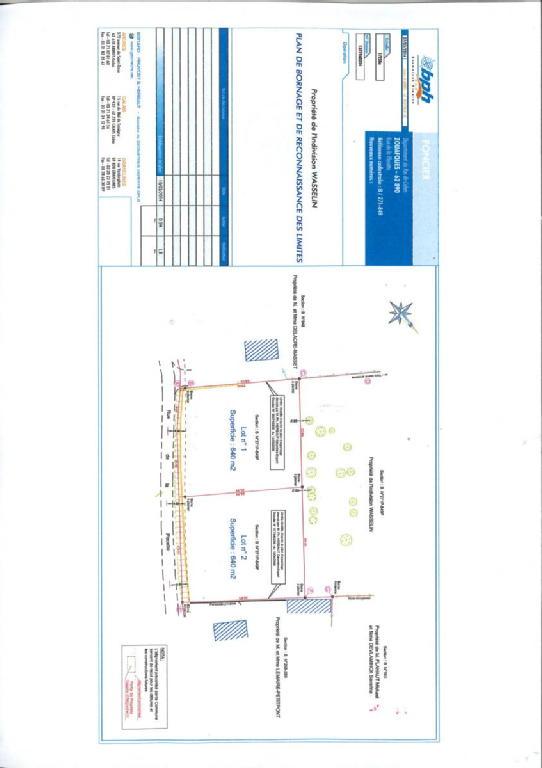 Terrains du constructeur SCP GALLET BROUSSE • 640 m² • ZOUAFQUES