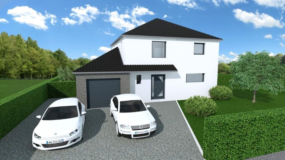 Maisons + Terrains du constructeur MAISONS FRANCE CONFORT • 111 m² • LEFFRINCKOUCKE