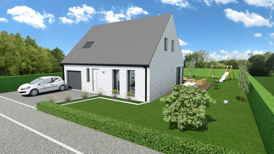 Maisons + Terrains du constructeur MAISONS FRANCE CONFORT • 105 m² • GHYVELDE