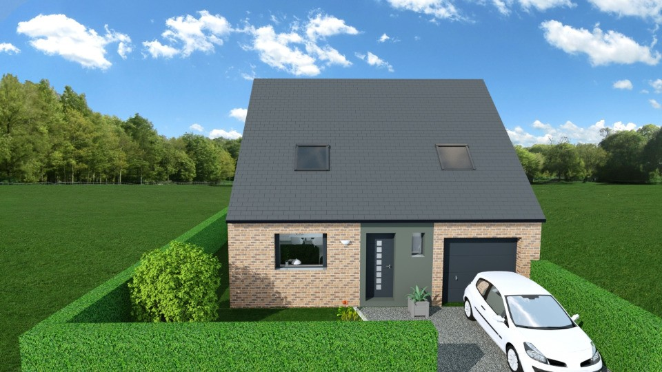 Maisons + Terrains du constructeur MAISONS FRANCE CONFORT • 96 m² • REXPOEDE