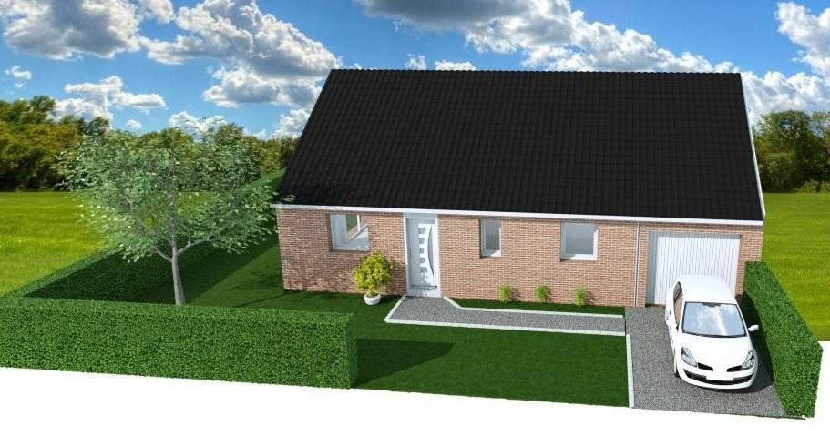 Maisons + Terrains du constructeur MAISONS FRANCE CONFORT • 90 m² • WINNEZEELE