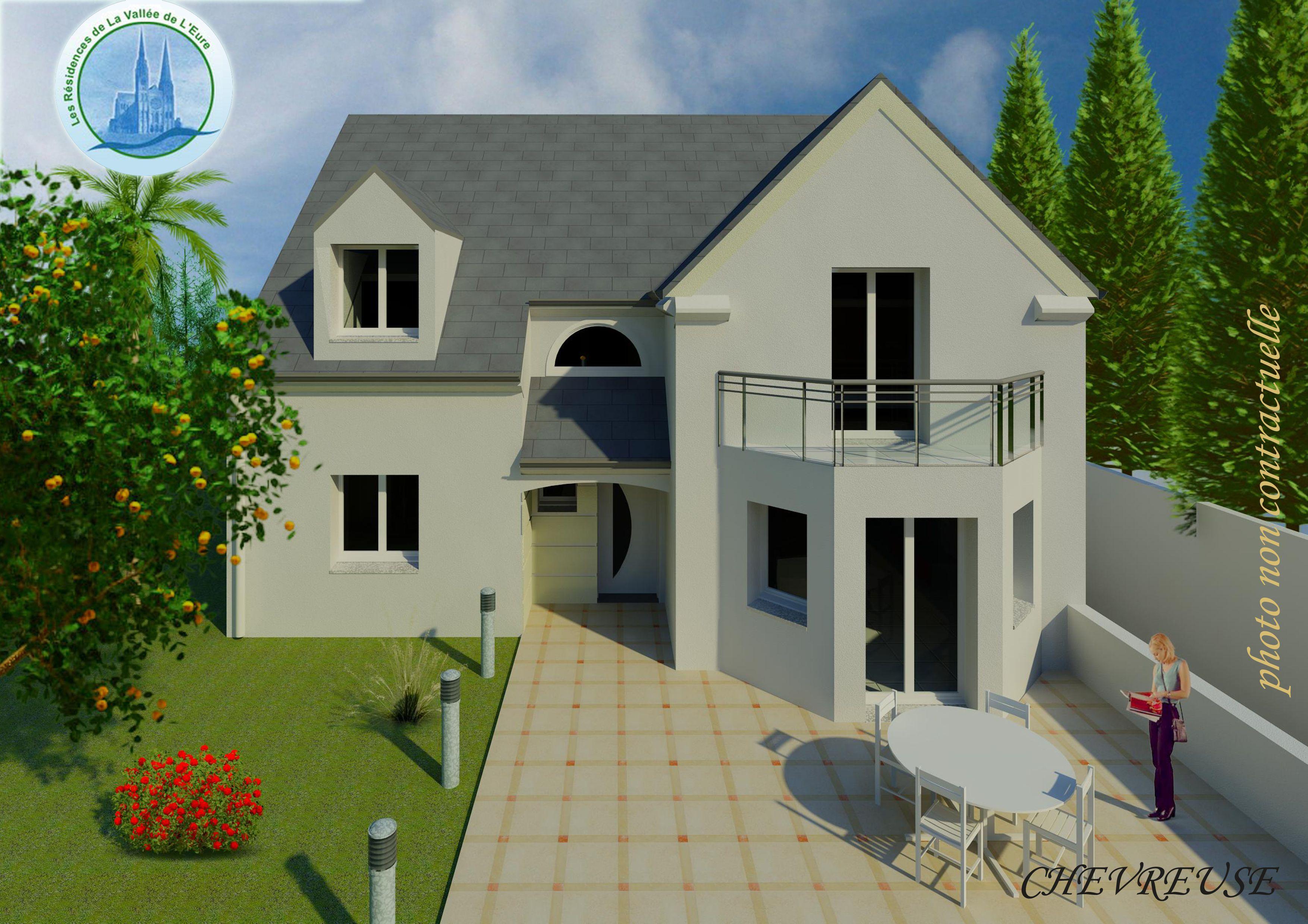 Maisons du constructeur MAISONS RVE 78 • 137 m² • AUFFARGIS