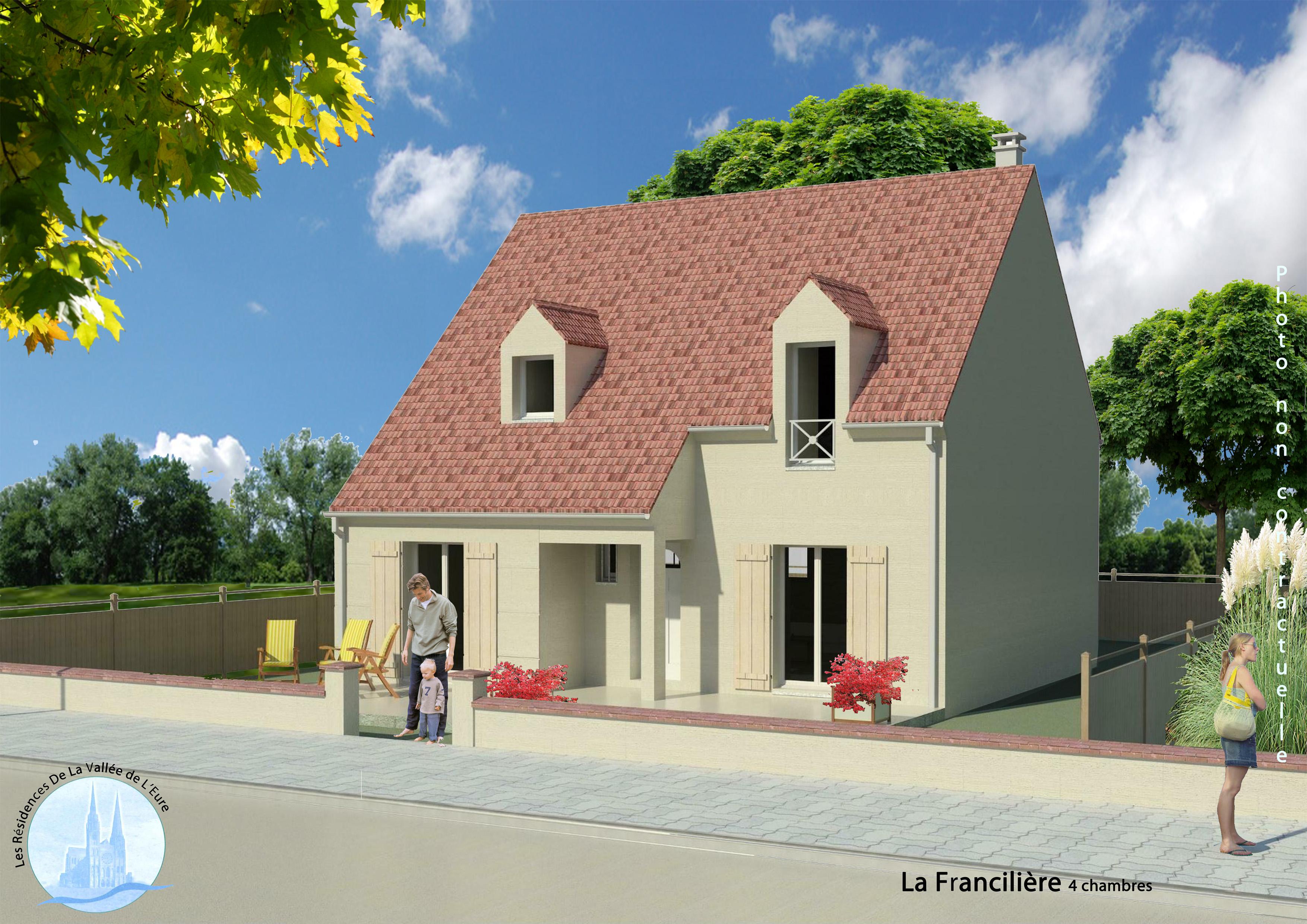 Maisons + Terrains du constructeur MAISONS RVE 78 • 150 m² • CERNAY LA VILLE