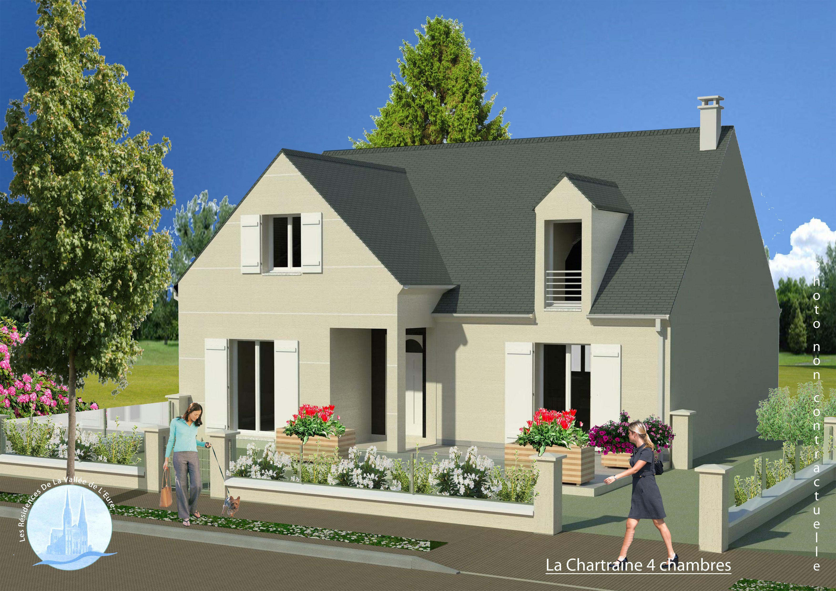 Maisons + Terrains du constructeur MAISONS RVE 78 • 127 m² • LONGNES
