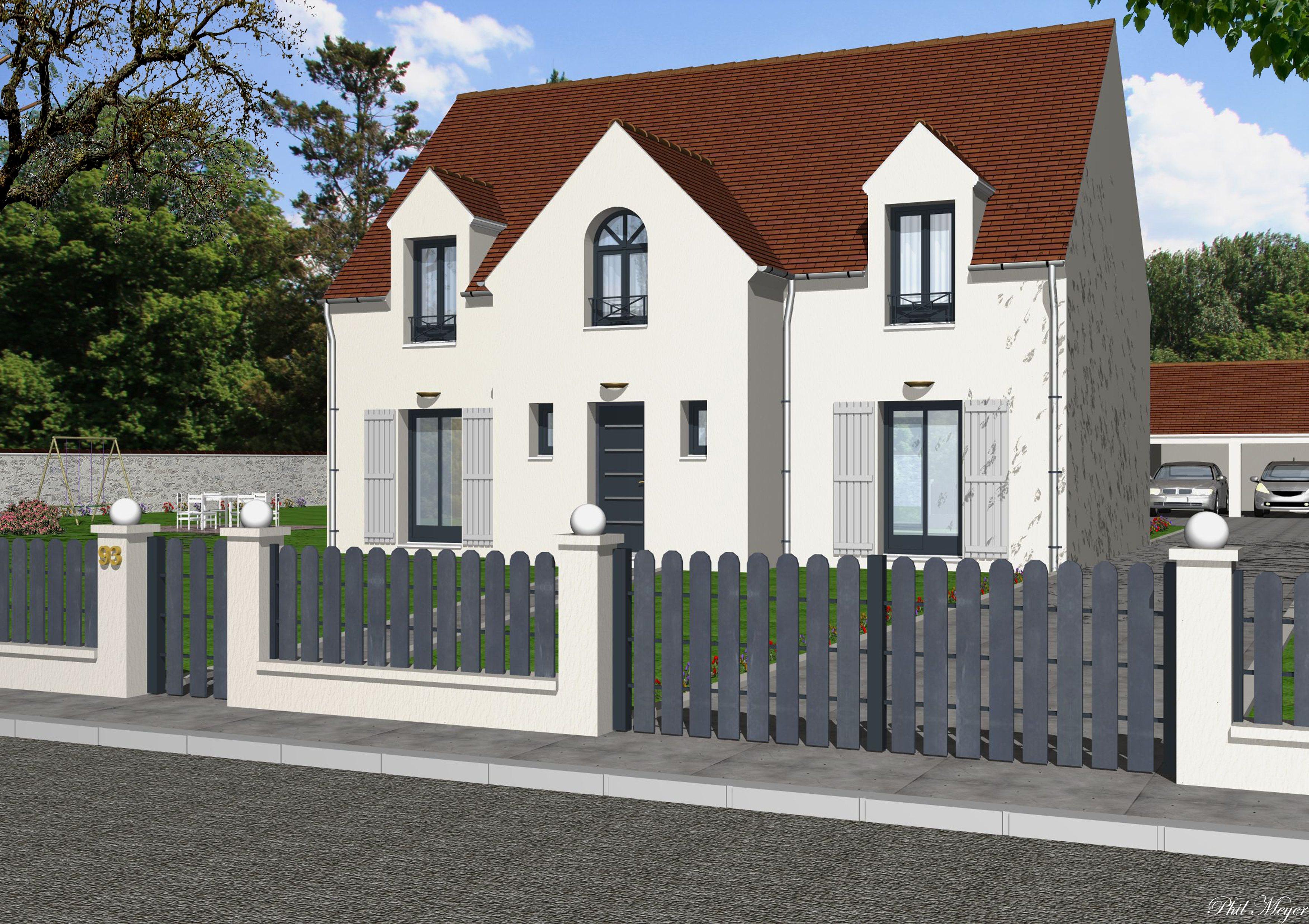 Maisons + Terrains du constructeur MAISONS RVE 78 • 160 m² • ORGEVAL