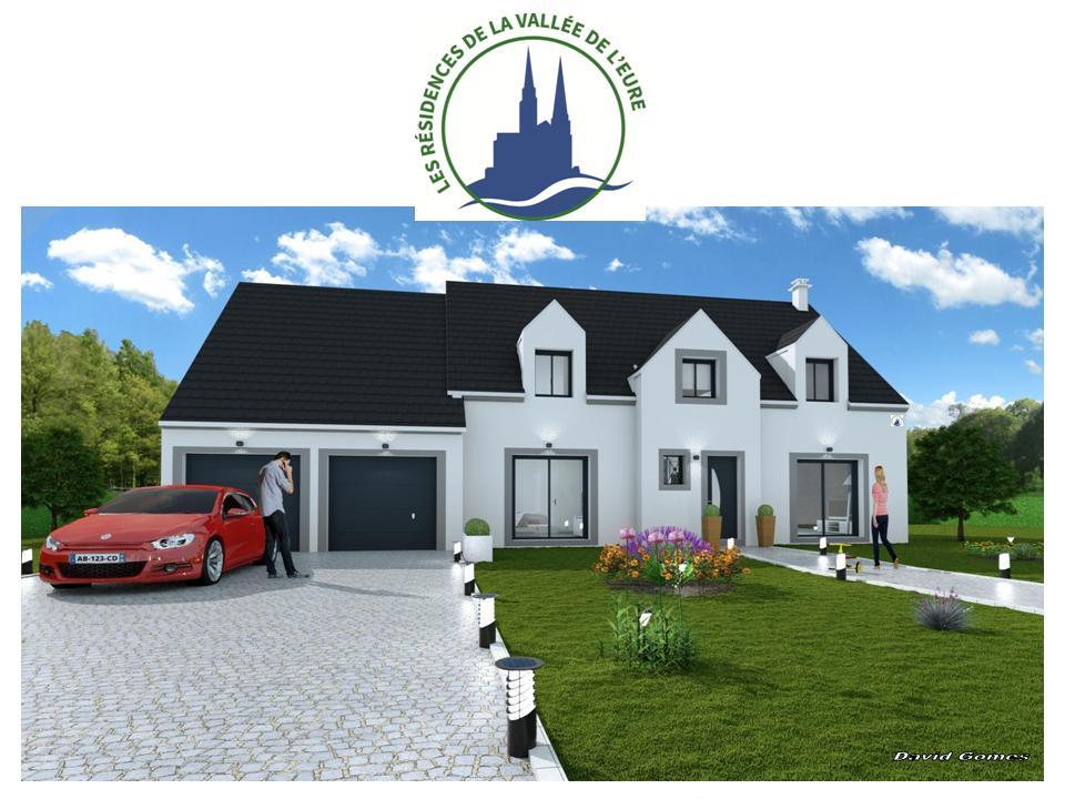 Maisons + Terrains du constructeur MAISONS RVE 78 • 192 m² • PACY SUR EURE