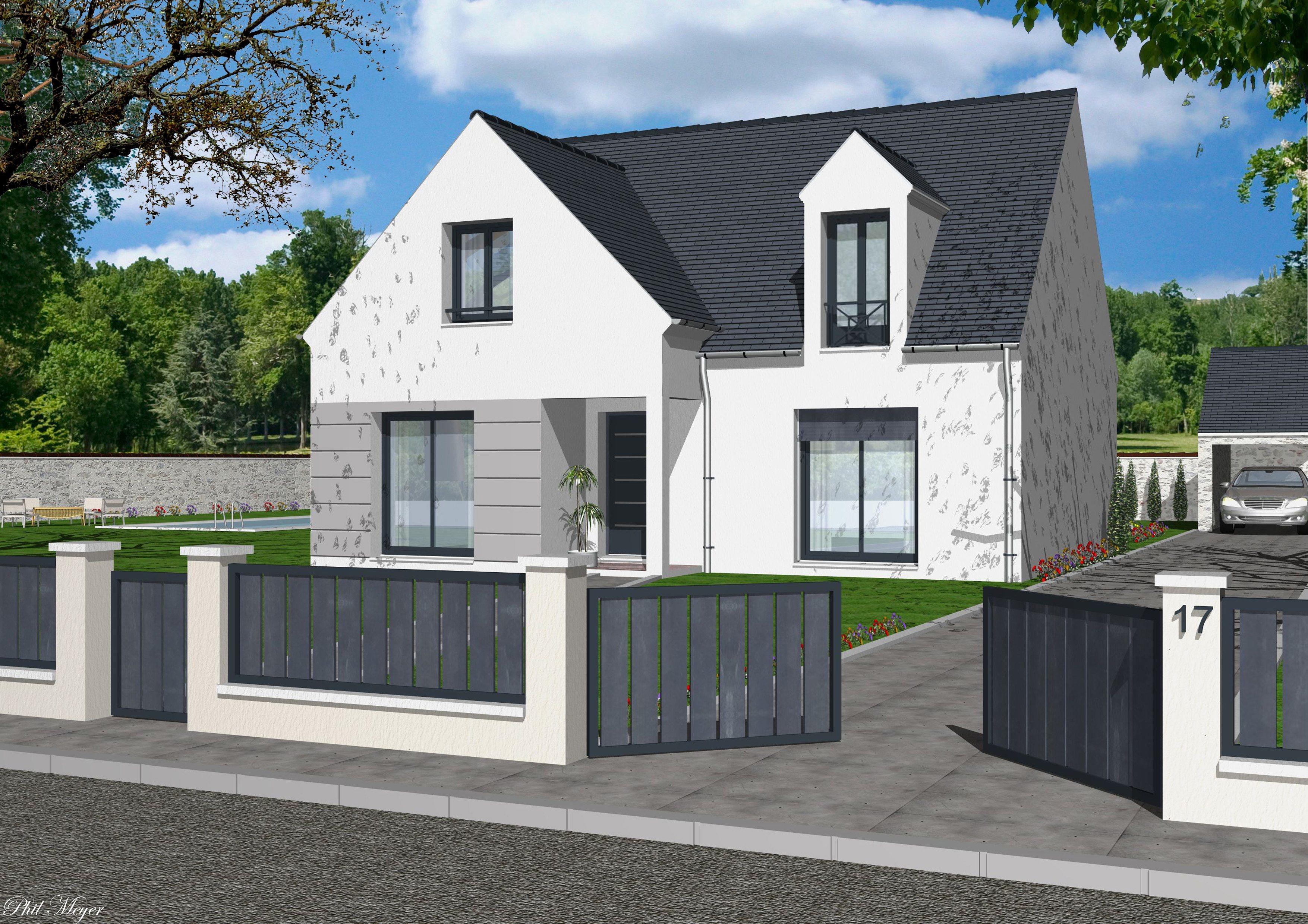 Maisons + Terrains du constructeur MAISONS RVE 78 • 125 m² • HOUDAN
