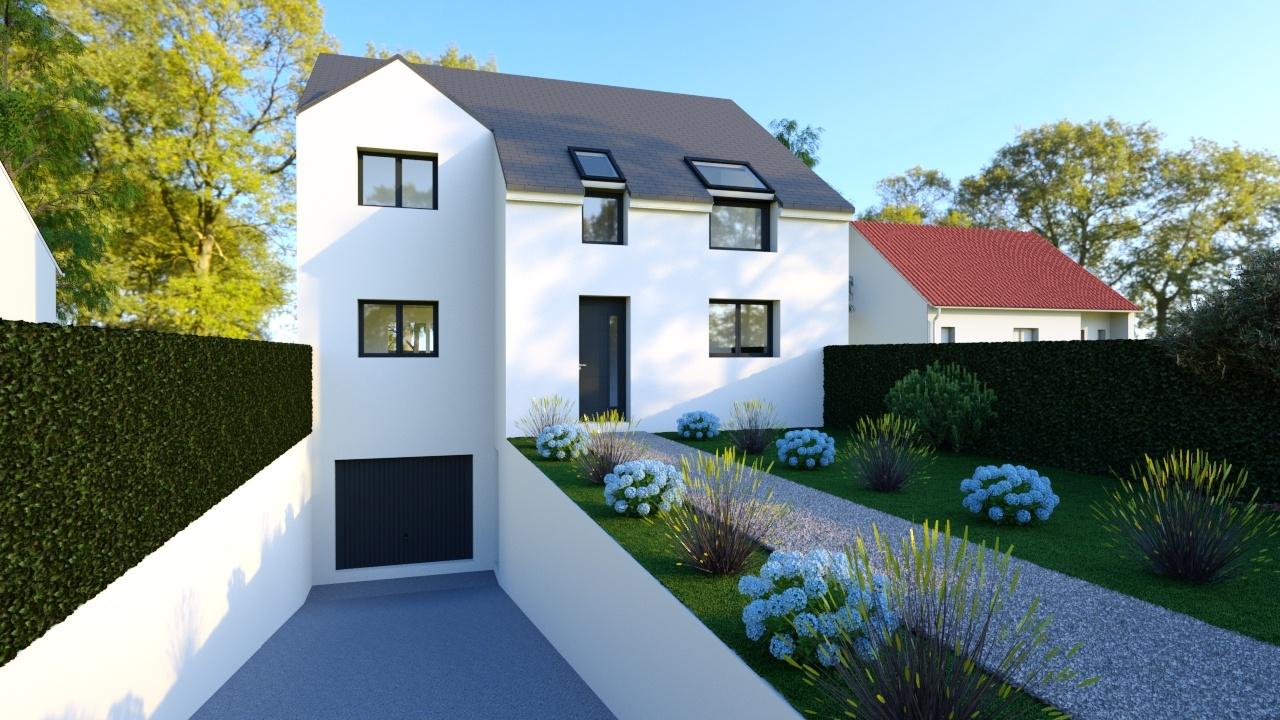 Maisons + Terrains du constructeur MAISONS RVE 78 • 137 m² • SAINT CYR L'ECOLE