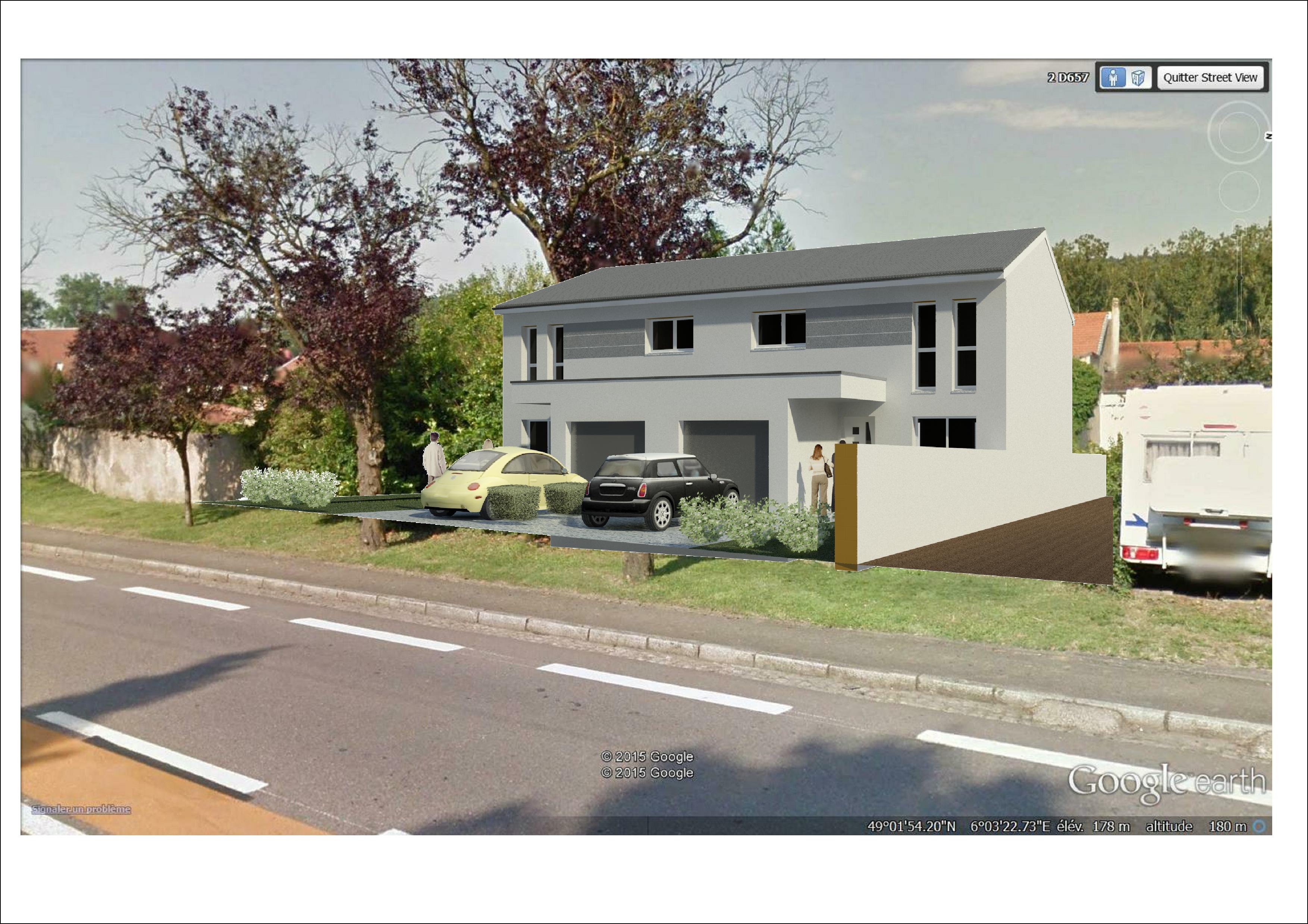 Maisons + Terrains du constructeur TRADISTYL CONSTRUCTIONS • 103 m² • CORNY SUR MOSELLE