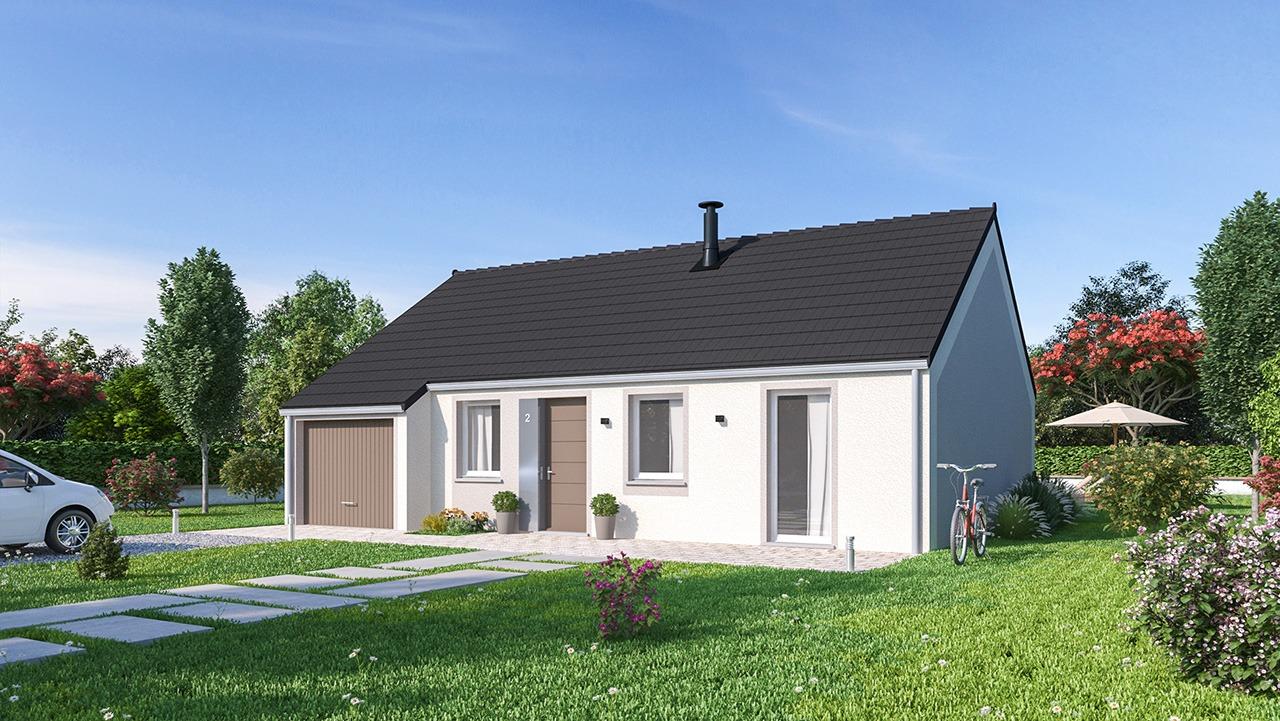 Maisons + Terrains du constructeur MAISONS PHENIX • 78 m² • SAINTE GENEVIEVE