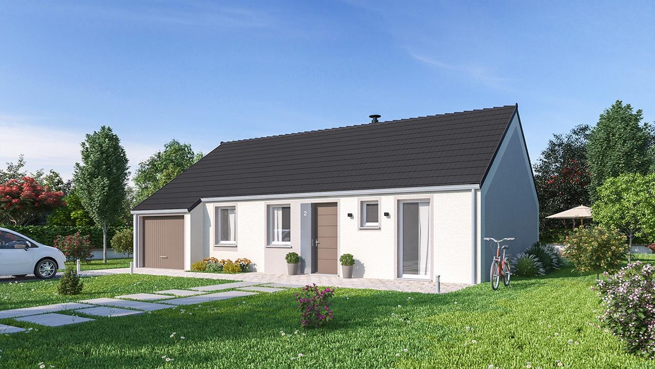 Maisons + Terrains du constructeur MAISONS PHENIX • 88 m² • GRANDFRESNOY