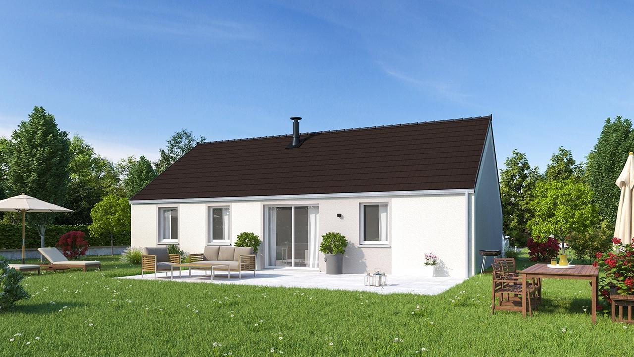 Maisons + Terrains du constructeur MAISONS PHENIX • 88 m² • BEAUVAIS